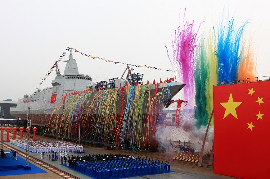 El nuevo tipo de destructor de construcción nacional de China (Reuters)