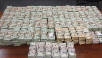 Decomisan medio millon de doles, Texas, El paso, Dólares mexicano, Chihuahua, Ciudad juárez, noticias