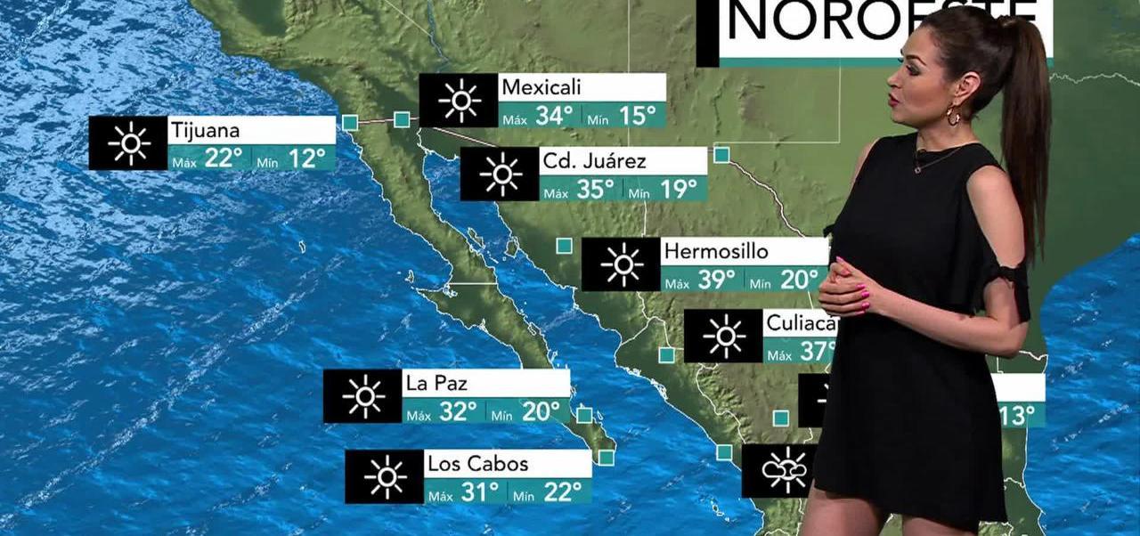 El clima, Mayte Carranco, tormenta tropical, Calvin