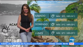 noticias, forotv, El clima, Mayte Carranco, clima, temperatura