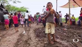 En Punto, Campamento, Desplazados Guatemaltecos, Campeche, Comunidad, Destruida, Enfermedades