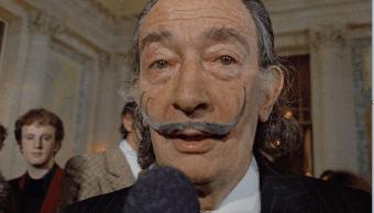 El pintor espanol Salvador Dali en 1973