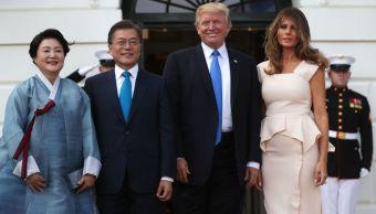 Trump, comercio, Corea del Sur, Norcorea, seguridad, política,