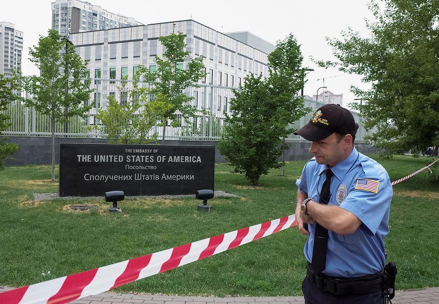 Embajada de Estados Unidos, Ucrania, Kiev, terrorismo, explosión, ataque