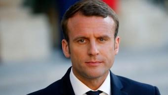 Emmanuel Macron, presidente de Francia. Eliseo Paris