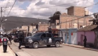 Policías estatales abaten a dos presuntos delincuentes en Tixtla, Guerrero