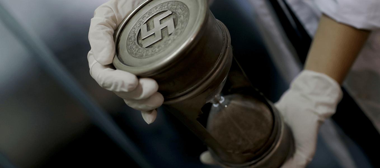 La Policia argentina halla objetos de la Alemania nazi