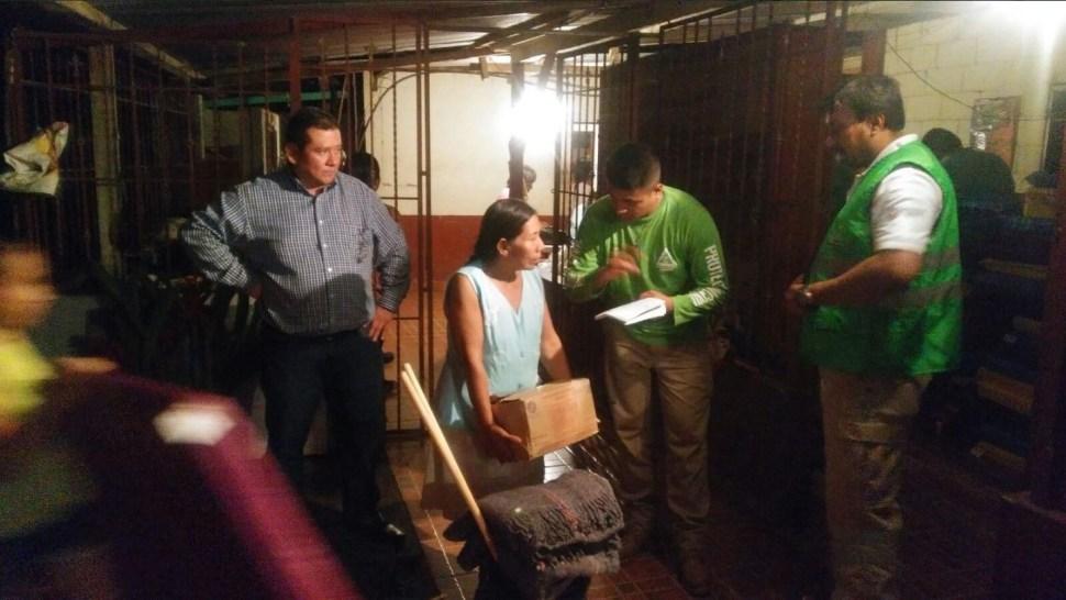 Proteccion civil de chiapas entrega ayuda