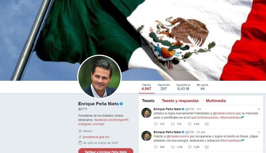 EPN felicita a selección mexicana de futbol por triunfo ante Rusia