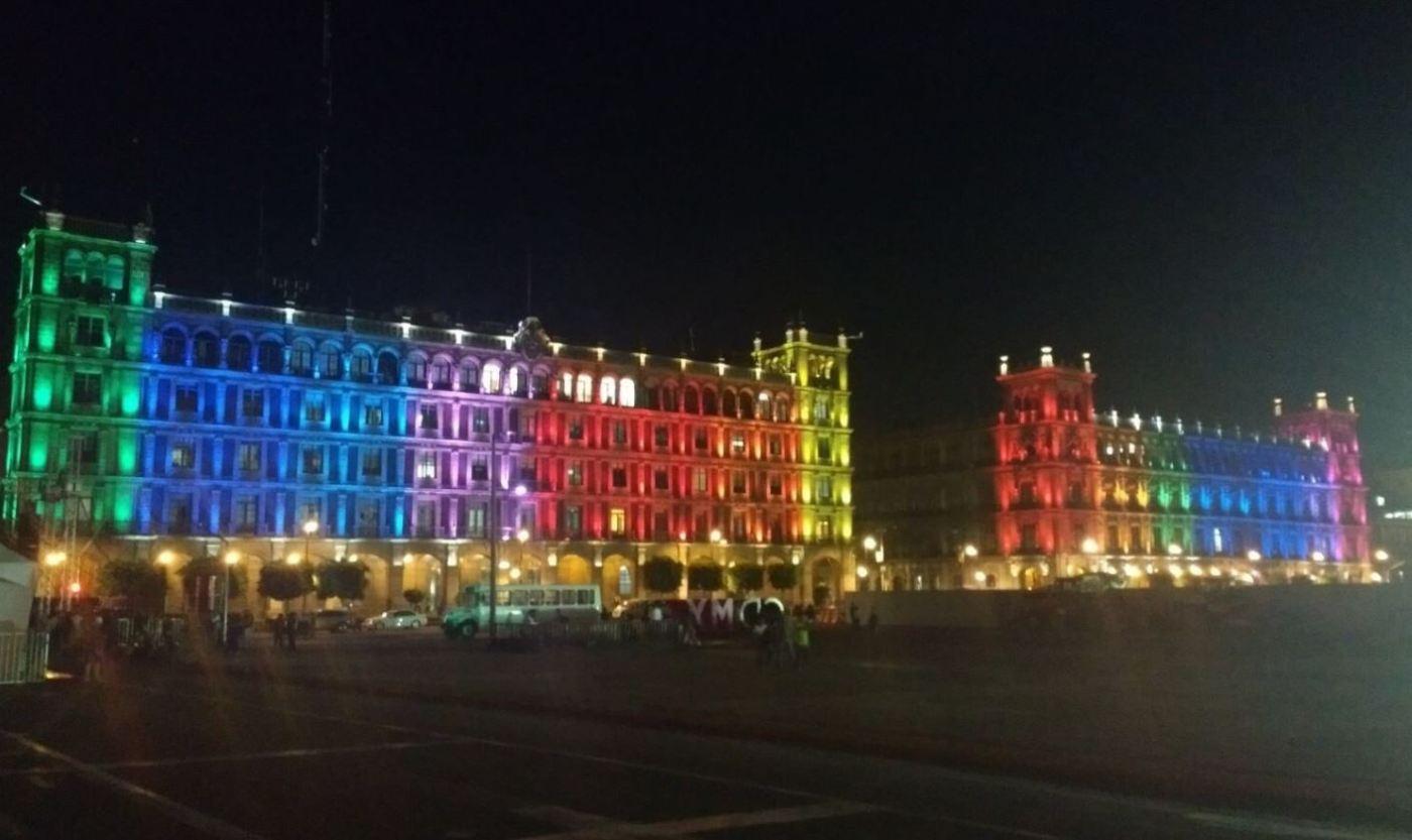 Ciudad de México, CDMX, Ilumina, Monumentos Históricos, Diversidad Sexual, Marcha Gay, Matrimonio Igualitario, Transgénero