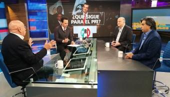 Gerardo Esquivel, Roy Campos y Rubén Aguilar en la mesa de Despierta con Loret