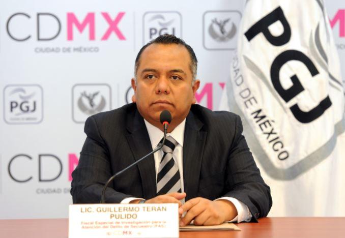 Fiscal especial, Atención del Delito de Secuestro o Fuerza Antisecuestro, Guillermo Terán Pulido, borrego viudo