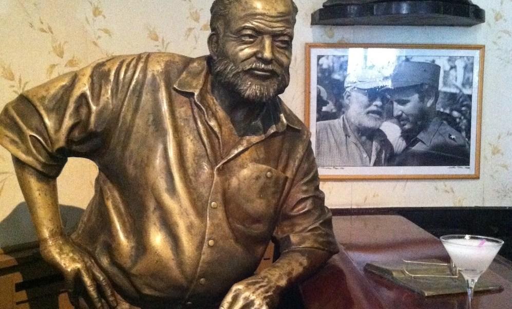Ernest Hemingway, ron, daiquirí, Cuba