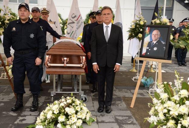 Veracruz, Gobernador, Homenaje, Policias federales