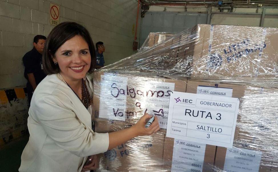 Instituto Electoral de Coahuila destruye boletas sobrantes