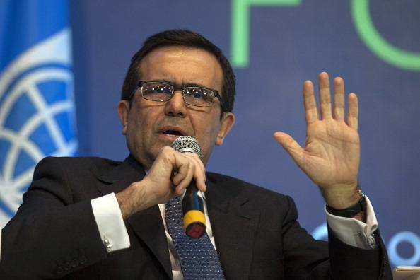 Ildefonso Guajardo Villarreal, secretario de Economía,