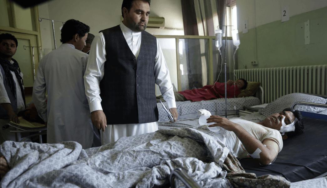Hombre herido tras atentado terrorista en Afganistan