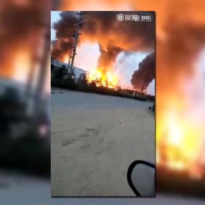 Explosión en planta química de China deja 8 muertos