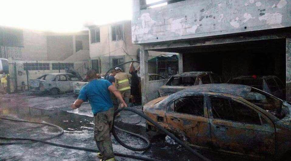 Bomberos, Protección Civil, Tamaulipas, incendio