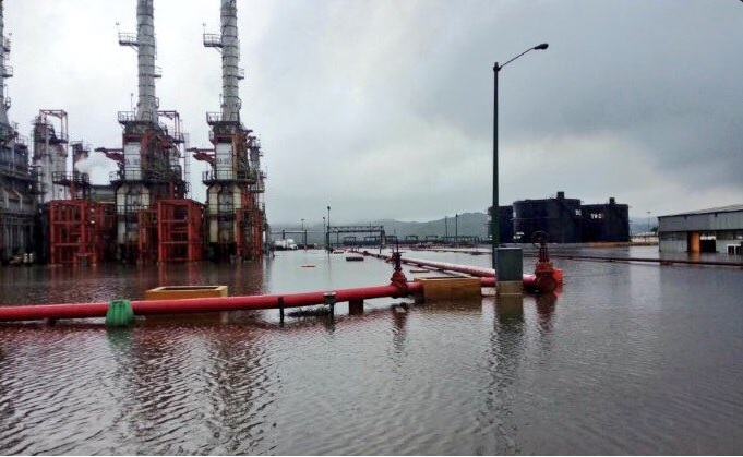 Refineria, Salina Cruz, Oaxaca, Inundacion, Refineria de salina cruz, Calvin