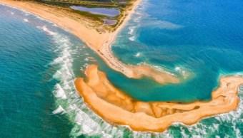 Una nueva isla ha sido vista en Carolina del Norte (Instagram: @chadonka)