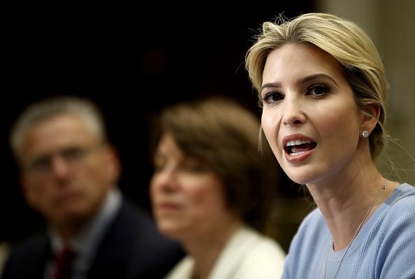Ivanka Trump participa en un evento sobre trafico humano