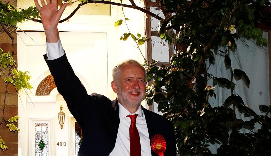 Jeremy Corbyn, líder, Partido Laborista, Reino Unido, elecciones, votos,