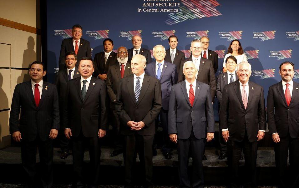 John Kelly en la Conferencia de Prosperidad y Seguridad en Centroamérica