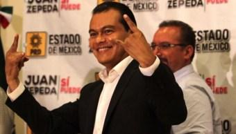 Elecciones, Edomex, Juan Zepeda, PRD, Gobierno, Derrota