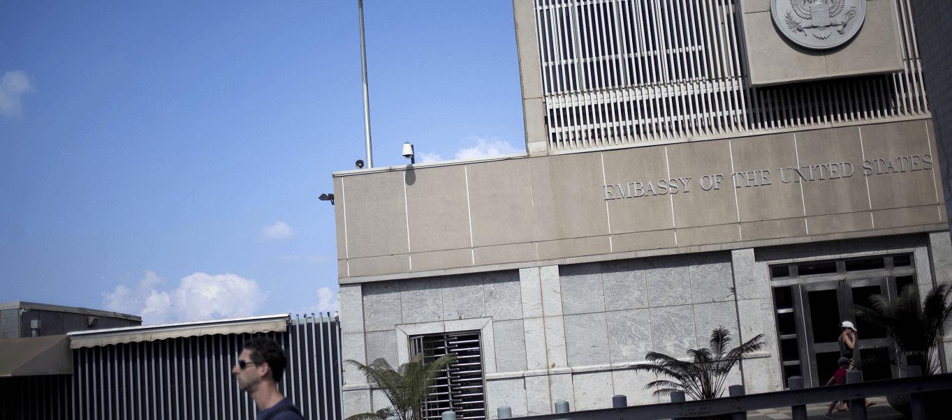 La embajada de Estados Unidos en Israel se encuentra en la ciudad de Tel Aviv