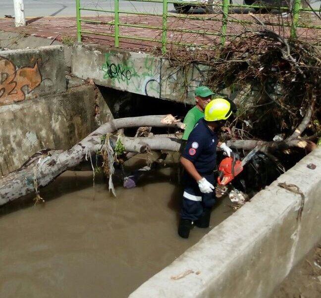 Lluvias causan afectaciones y encharcamientos en León, Guanajuato