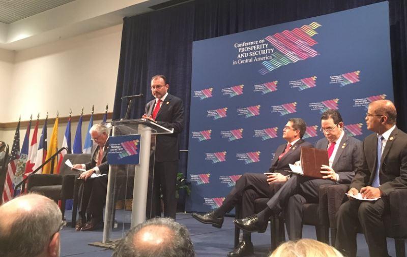 Luis Videgaray en la Conferencia sobre Prosperidad y Seguridad en Centroamérica