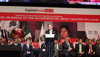 Jefe de Gobierno, Miguel Ángel Mancera, CDMX, Alzheimer, salud, Auditorio Nacional