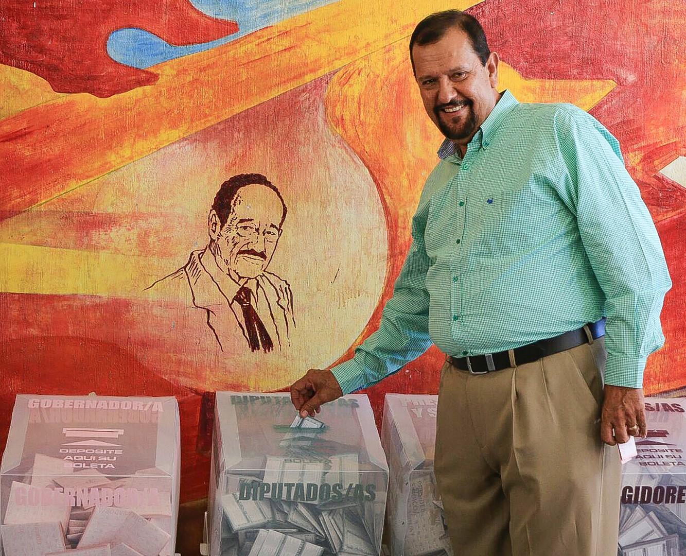 Manuel Cota Jiménez, candidato de la Coalición Nayarit de Todos