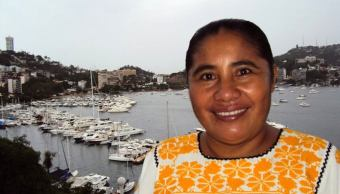 Marcela de Jesus Natalia, locutora de radio de Guerrero