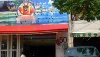 Marisquería El Camarón Revolución, en la colonia Escandón, CDMX. (Noticieros Televisa)