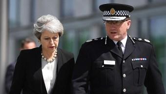 May confirmó que los sucesos se investigan como actos potenciales de terrorismo (Getty Images)