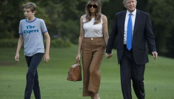 Melania Trump, Barron, Mudan, Casa Blanca, Primera Dama, Estados Unidos, Trump,