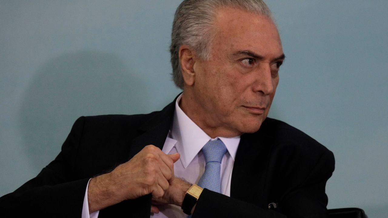 Michel Temer, interrogatorio, Brasil, corrupción, justicia, sobornos,