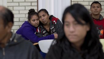 Migrantes centroamericanos en Texas