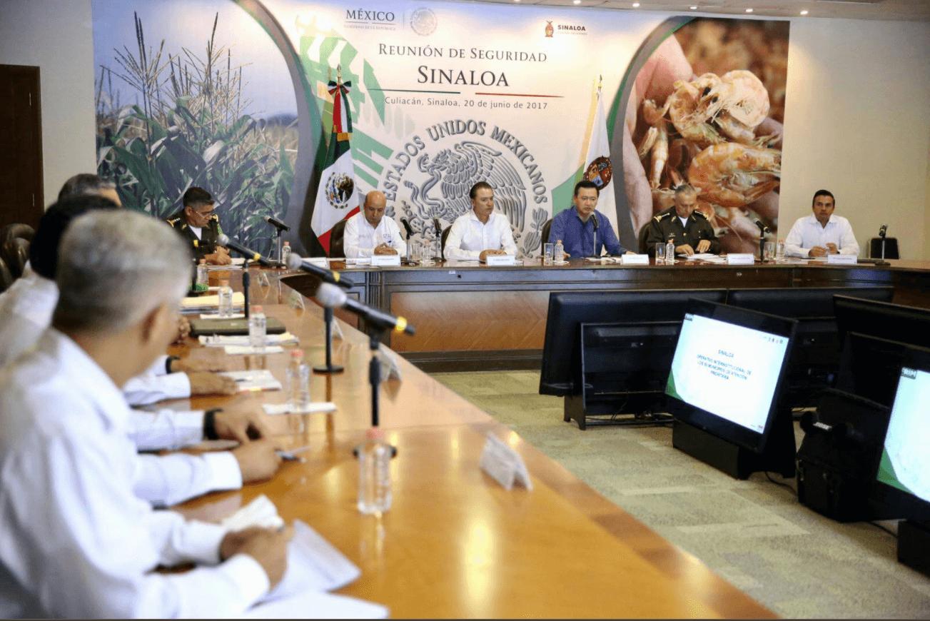 Gobierno Federal llama a reforzar estrategia de seguridad en Sinaloa