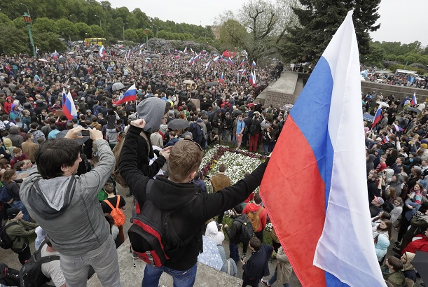 Alexei Navalny, líder, opositor, Rusia, cárcel, protestas,