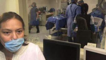 Mujer que recibió trasplante de corazón en el IMSS