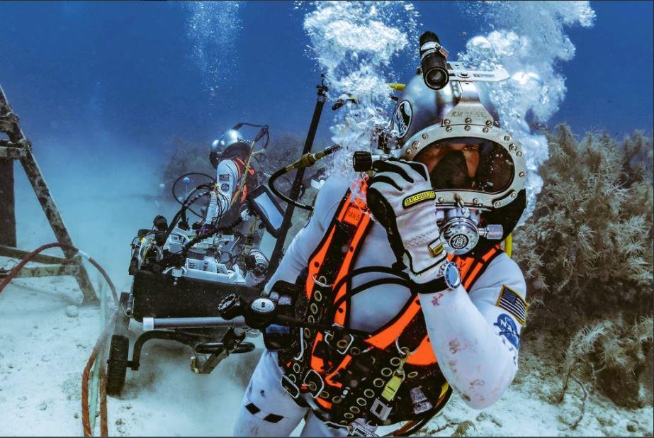 Nasa termina el proyecto neemo bajo el agua