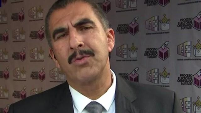 El consejero presidente del Instituto Electoral de Nayarit, Celso Valderrama Delgado (Foto: FOROtv)