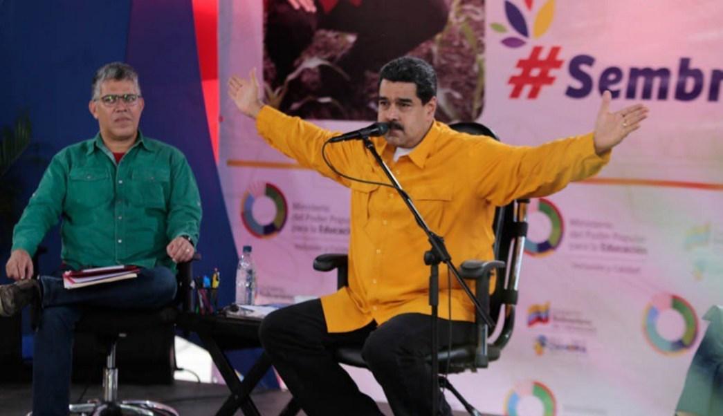 """Maduro pide a Trump que """"rectifique"""" la política hacia su país . (Twitter: @NicolasMaduro)"""