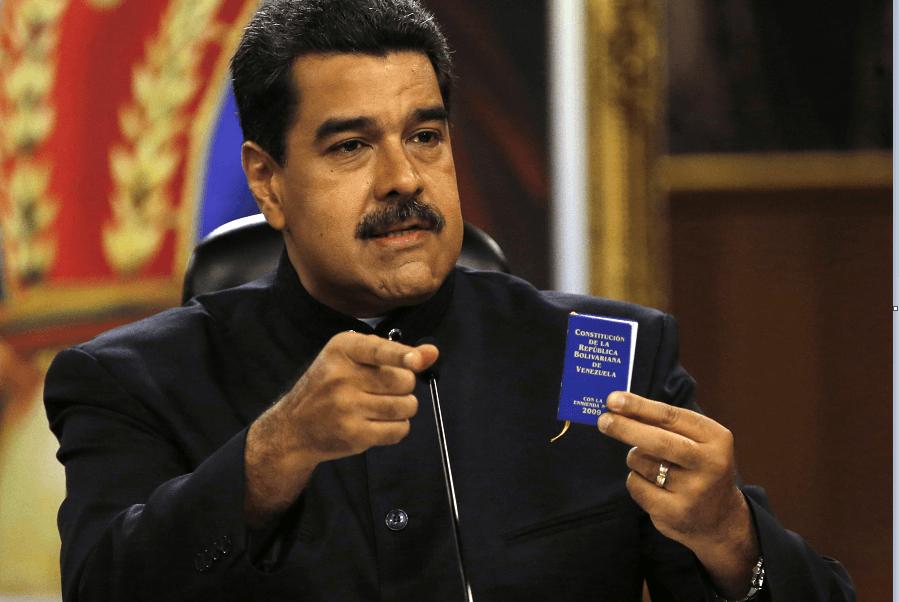 Nicolás Maduro, presidente de Venezuela, habla sobre OEA