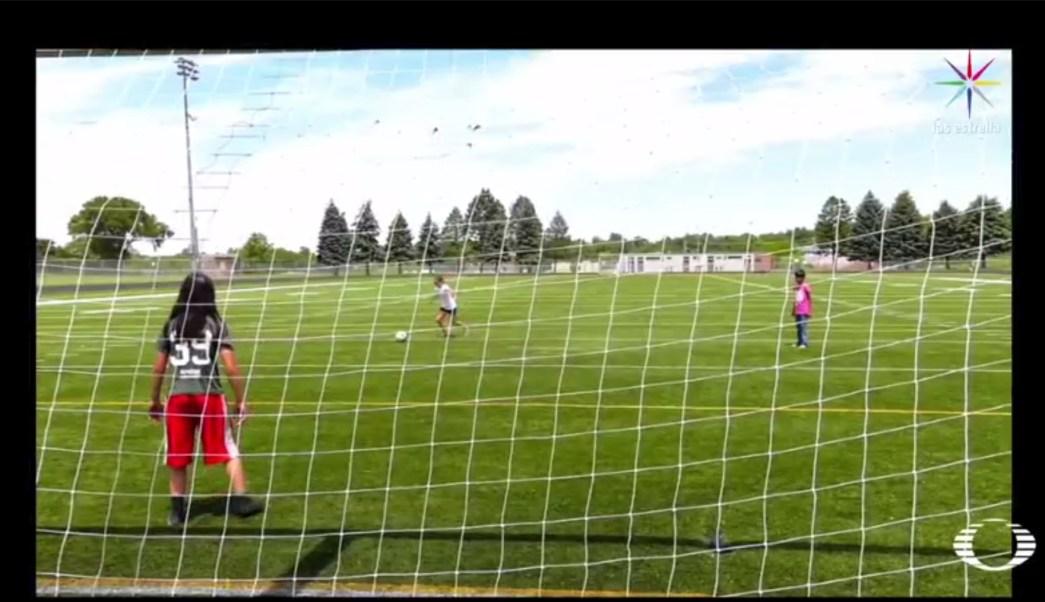 Milagros Hernández, Mili, futbol, discriminación, Estados Unidos, Nebraska, niña, niño
