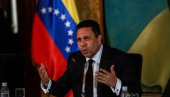 El nuevo canciller venezolano, Samuel Moncada