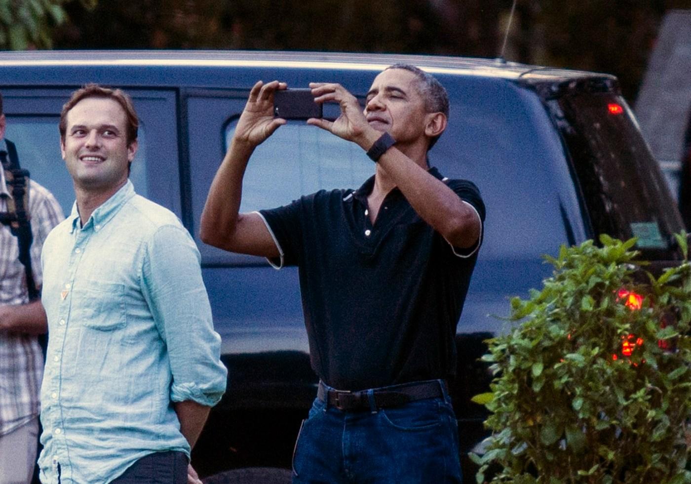 Obama disfruta de unas vacaciones en Indonesia. (AP)